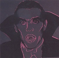 dracula [ii.264] by andy warhol
